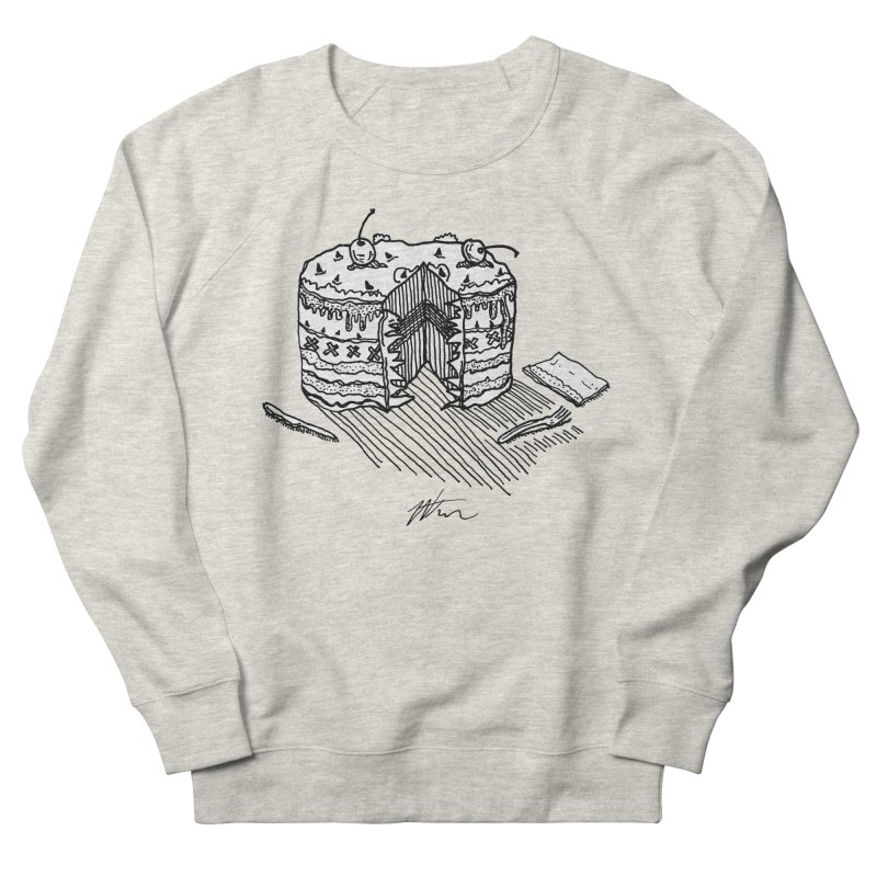 Bon Appéteeth Women's French Terry Sweatshirt by Rorockll's Artist Shop