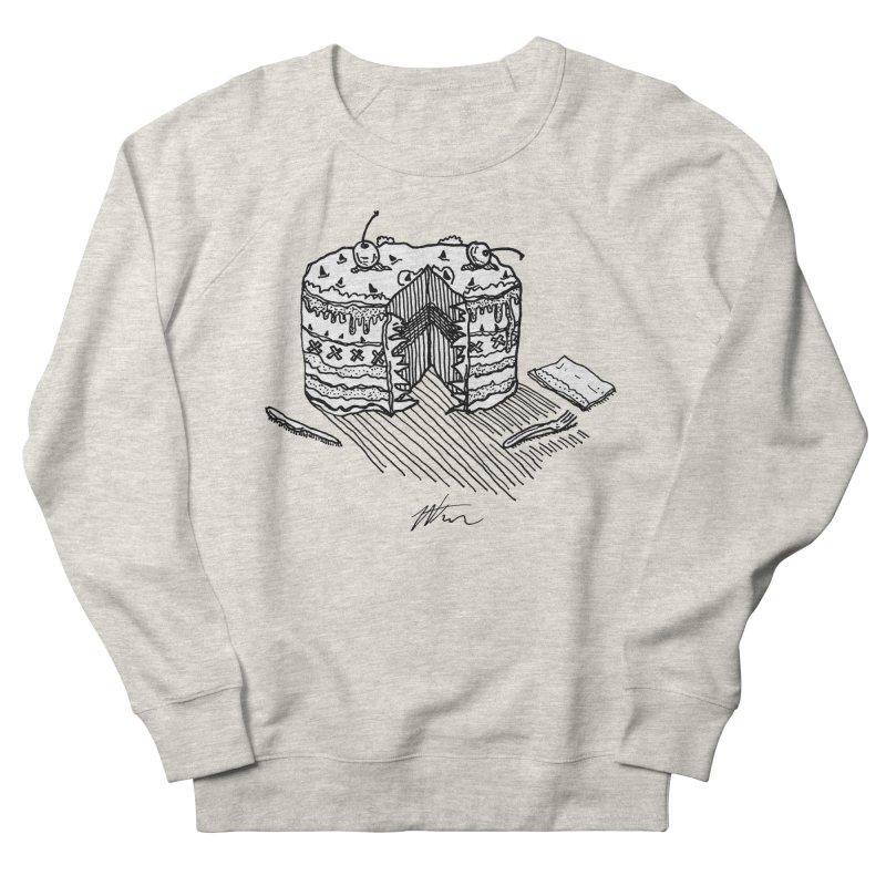 Bon Appéteeth Men's French Terry Sweatshirt by Rorockll's Artist Shop