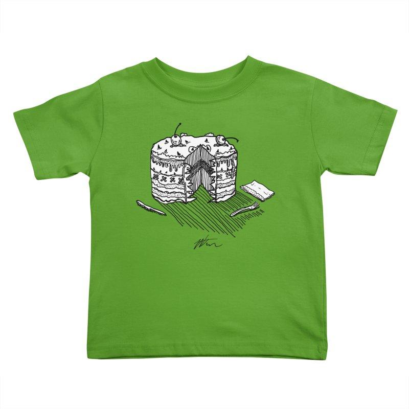 Bon Appéteeth Kids Toddler T-Shirt by Rorockll's Artist Shop