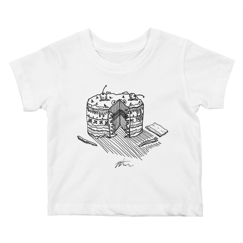 Bon Appéteeth Kids Baby T-Shirt by Rorockll's Artist Shop