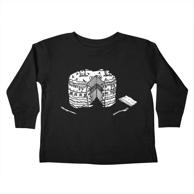 Bon Appéteeth Kids Toddler Longsleeve T-Shirt by Rorockll's Artist Shop