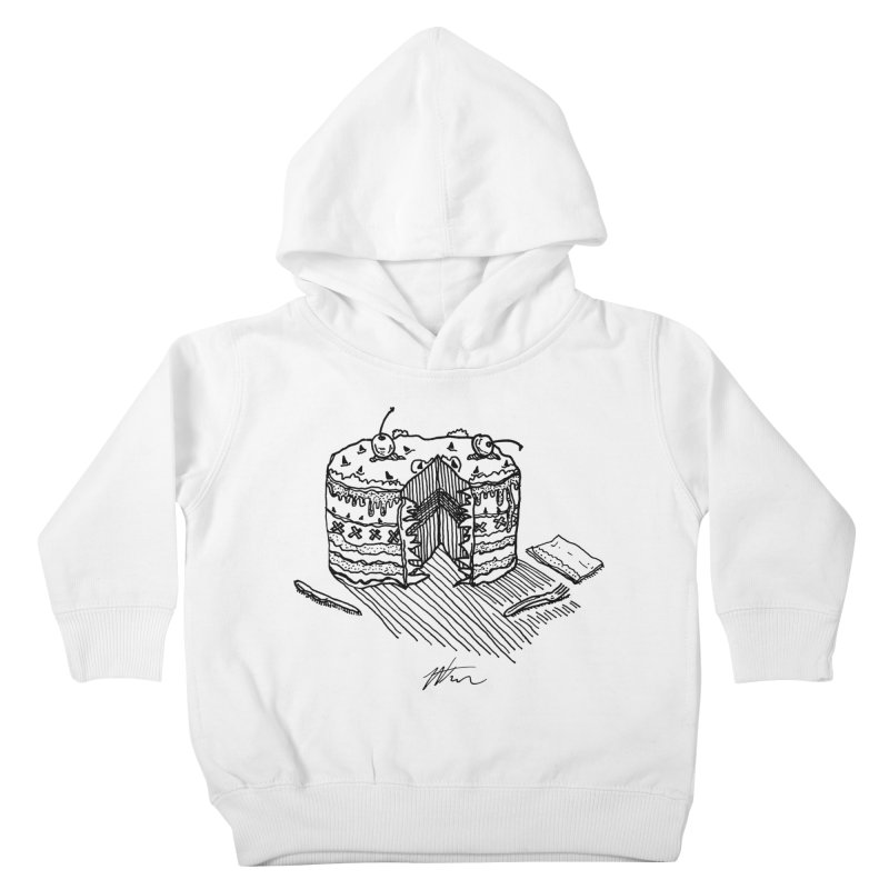 Bon Appéteeth Kids Toddler Pullover Hoody by Rorockll's Artist Shop