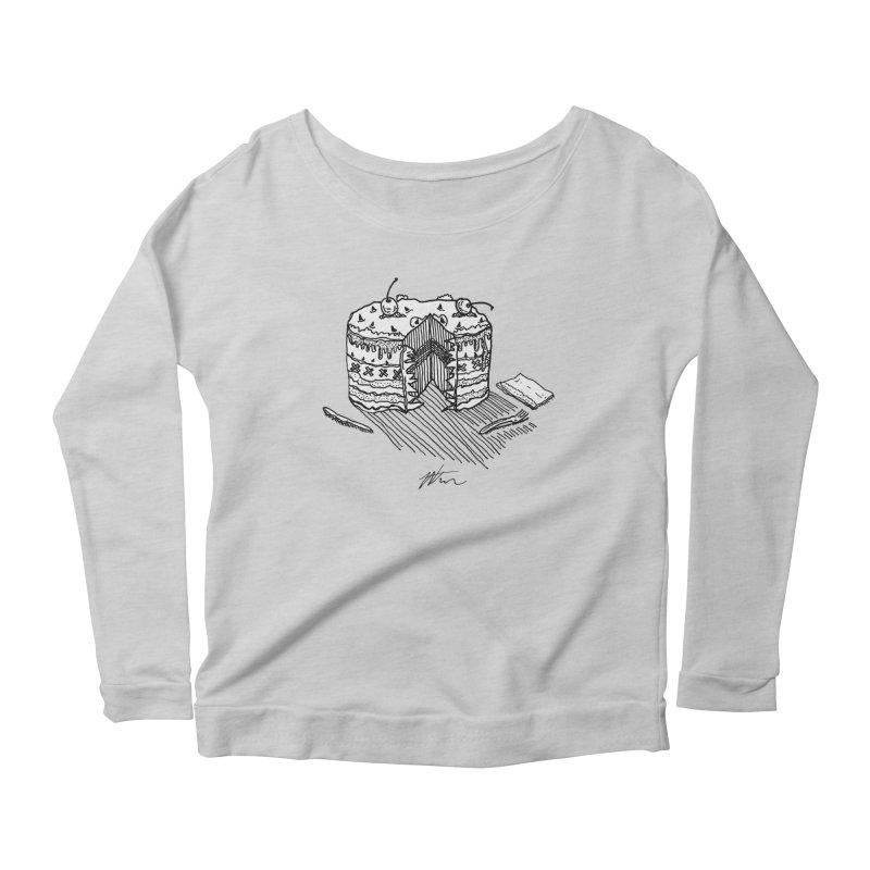 Bon Appéteeth Women's Scoop Neck Longsleeve T-Shirt by Rorockll's Artist Shop