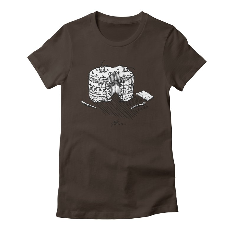 Bon Appéteeth Women's Fitted T-Shirt by Rorockll's Artist Shop