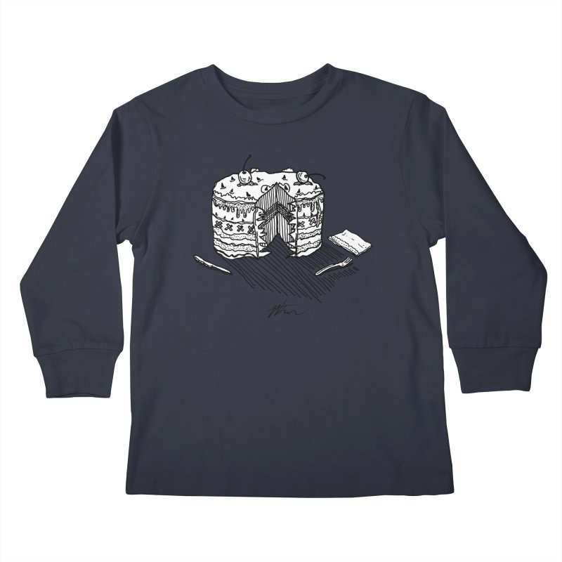 Bon Appéteeth Kids Longsleeve T-Shirt by Rorockll's Artist Shop