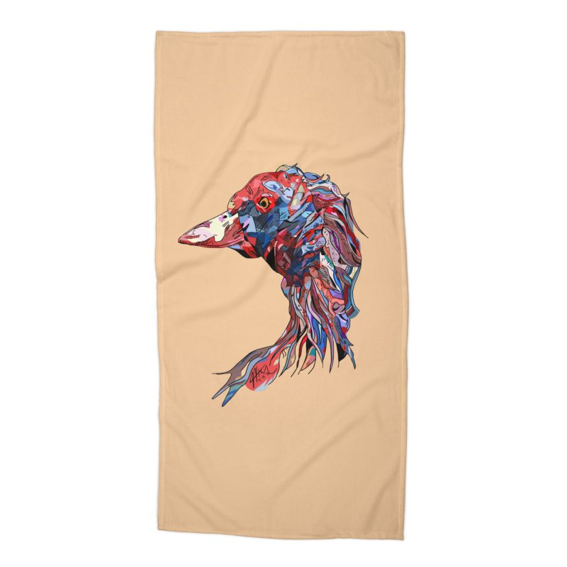 Wisconsin Accessories Beach Towel by Rorockll's Artist Shop