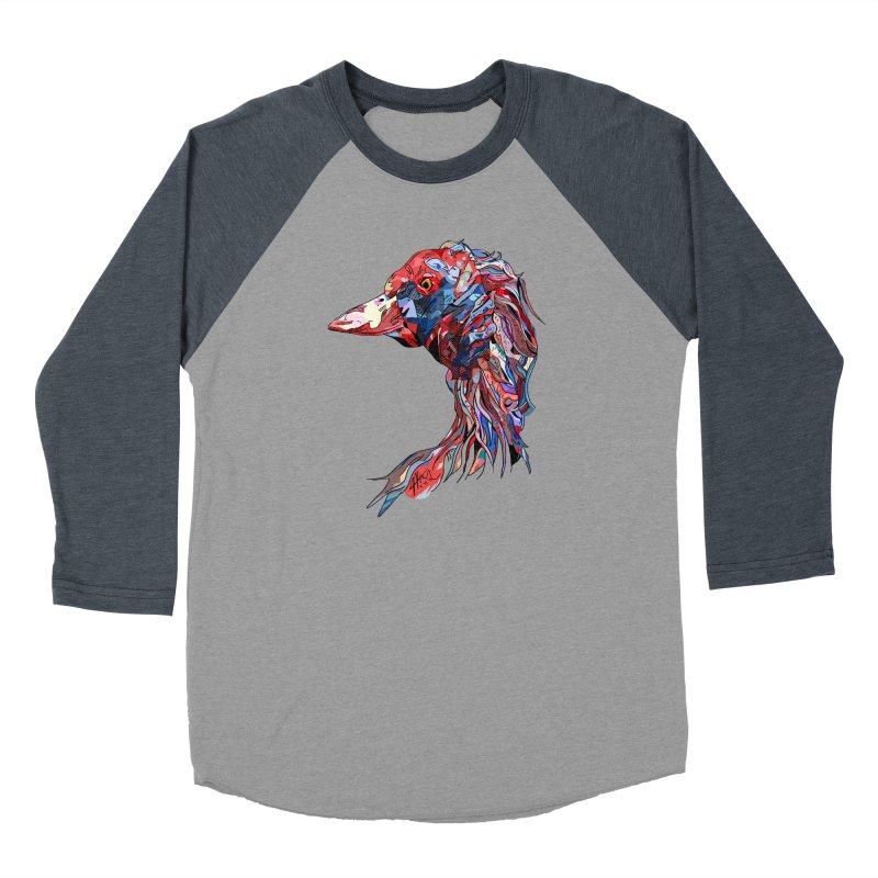 Wisconsin Men's Baseball Triblend Longsleeve T-Shirt by Rorockll's Artist Shop
