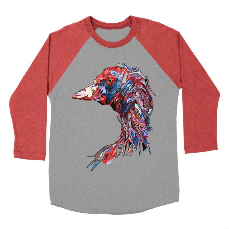 Wisconsin Women's Baseball Triblend Longsleeve T-Shirt by Rorockll's Artist Shop