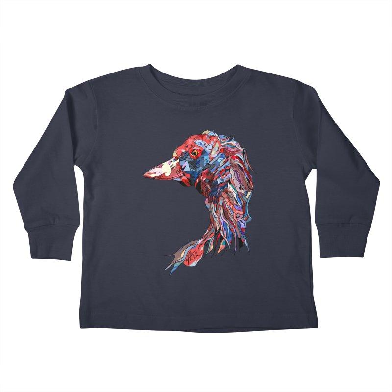 Wisconsin Kids Toddler Longsleeve T-Shirt by Rorockll's Artist Shop