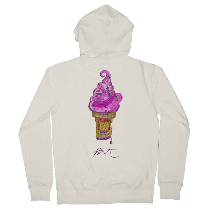 After Bronze Women's French Terry Zip-Up Hoody by Rorockll's Artist Shop