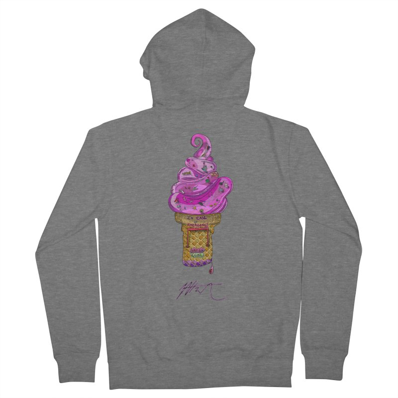 After Bronze Men's French Terry Zip-Up Hoody by Rorockll's Artist Shop