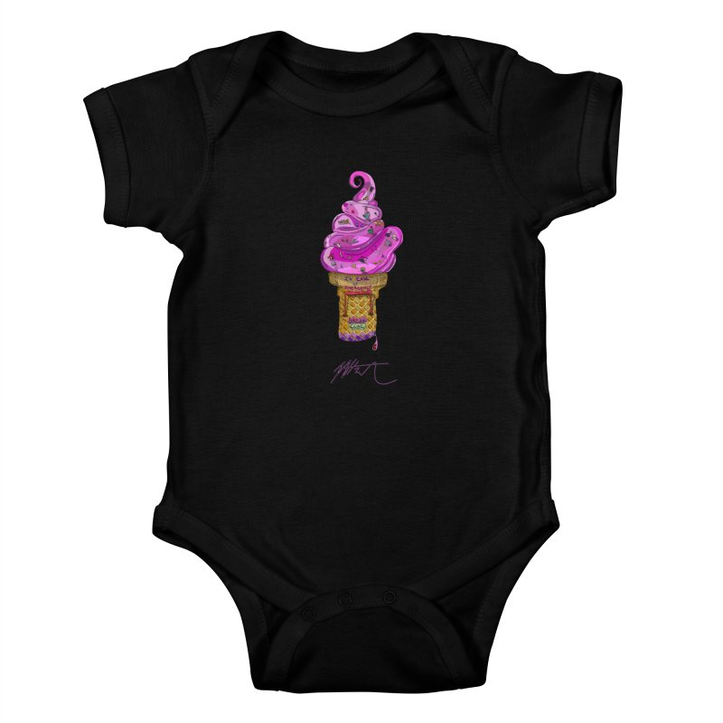 After Bronze Kids Baby Bodysuit by Rorockll's Artist Shop