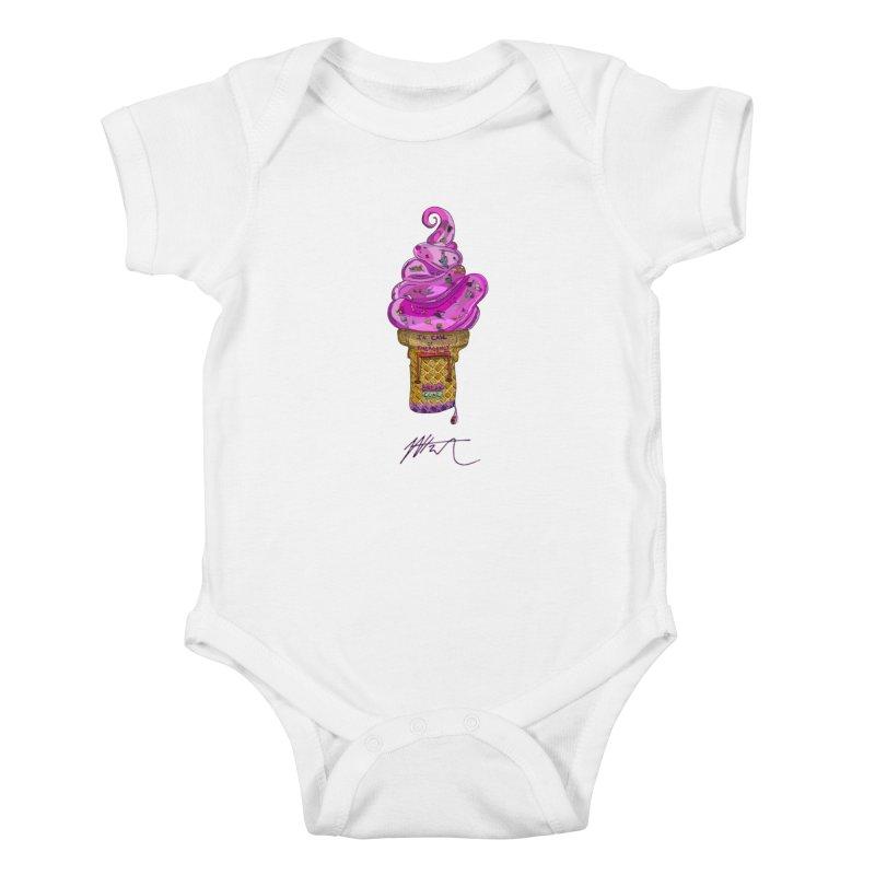 After Bronze Kids Baby Bodysuit by Rorockll's Artist Shop