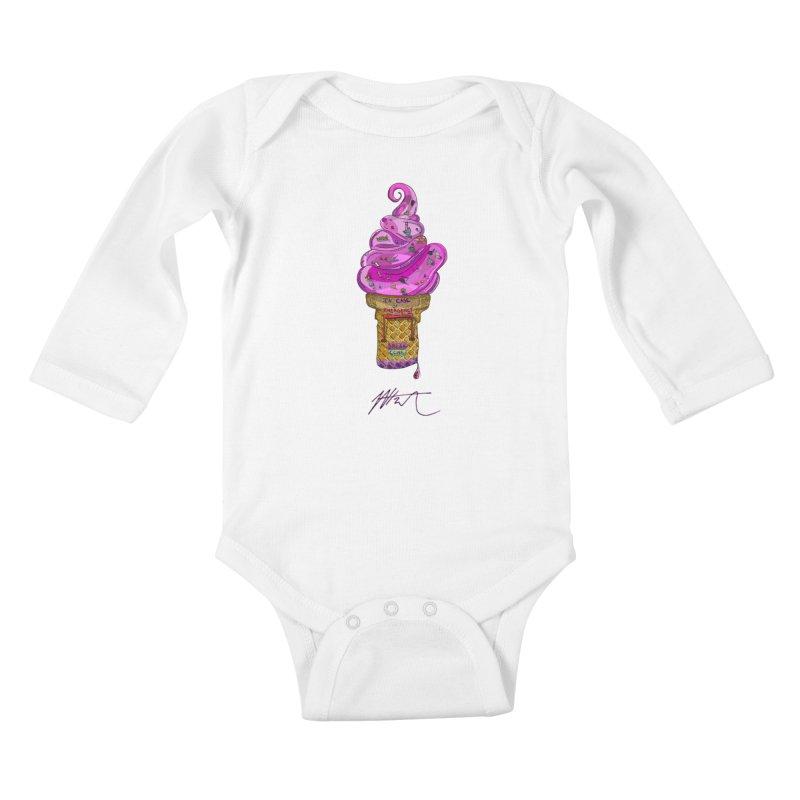 After Bronze Kids Baby Longsleeve Bodysuit by Rorockll's Artist Shop