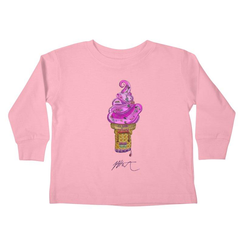 After Bronze Kids Toddler Longsleeve T-Shirt by Rorockll's Artist Shop
