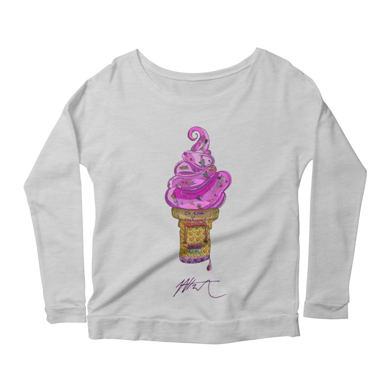 After Bronze Women's Scoop Neck Longsleeve T-Shirt by Rorockll's Artist Shop
