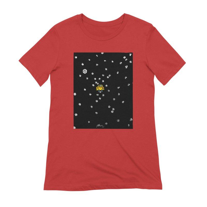 Road Trip Women's Extra Soft T-Shirt by Rorockll's Artist Shop