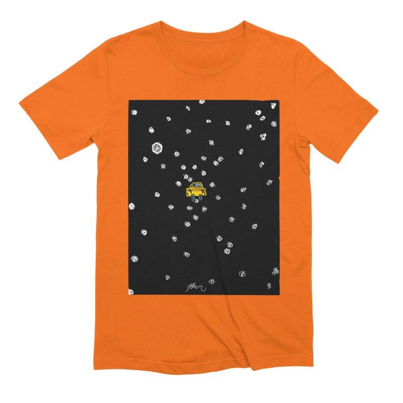 Road Trip Men's Extra Soft T-Shirt by Rorockll's Artist Shop