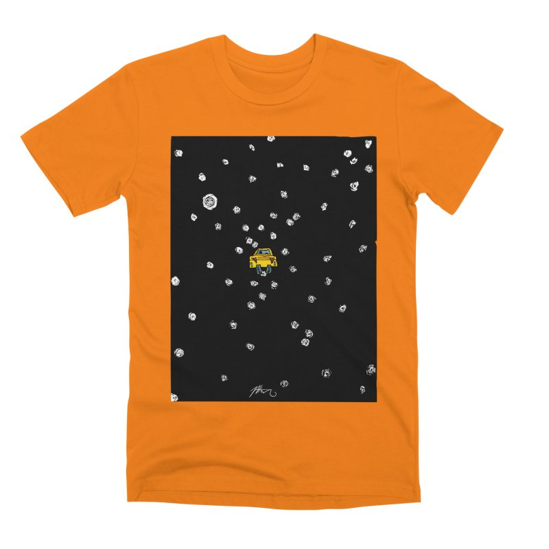 Road Trip Men's T-Shirt by Rorockll's Artist Shop