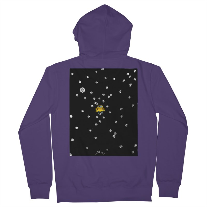 Road Trip Women's French Terry Zip-Up Hoody by Rorockll's Artist Shop