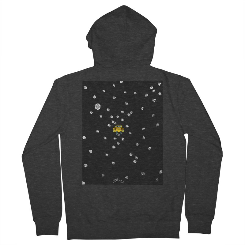 Road Trip Men's French Terry Zip-Up Hoody by Rorockll's Artist Shop