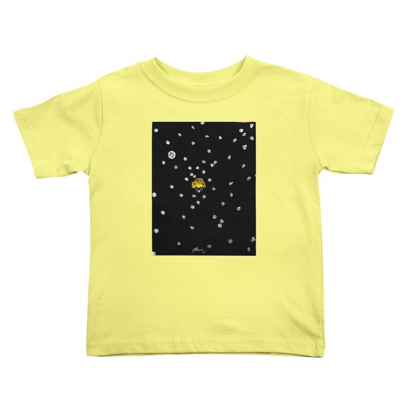 Road Trip Kids Toddler T-Shirt by Rorockll's Artist Shop