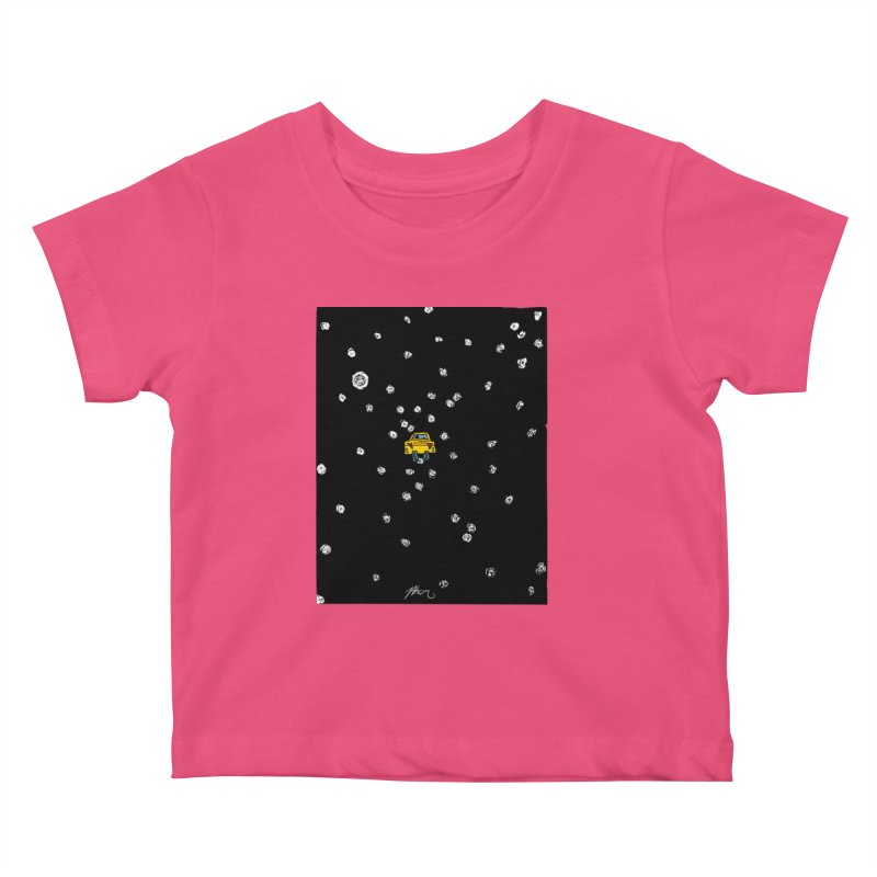 Road Trip Kids Baby T-Shirt by Rorockll's Artist Shop