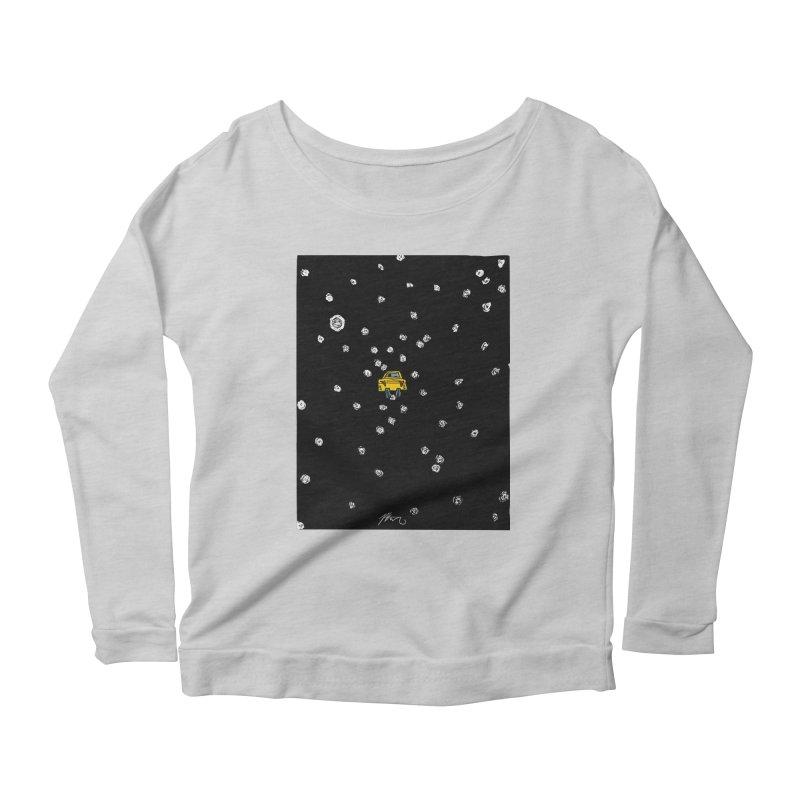 Road Trip Women's Scoop Neck Longsleeve T-Shirt by Rorockll's Artist Shop