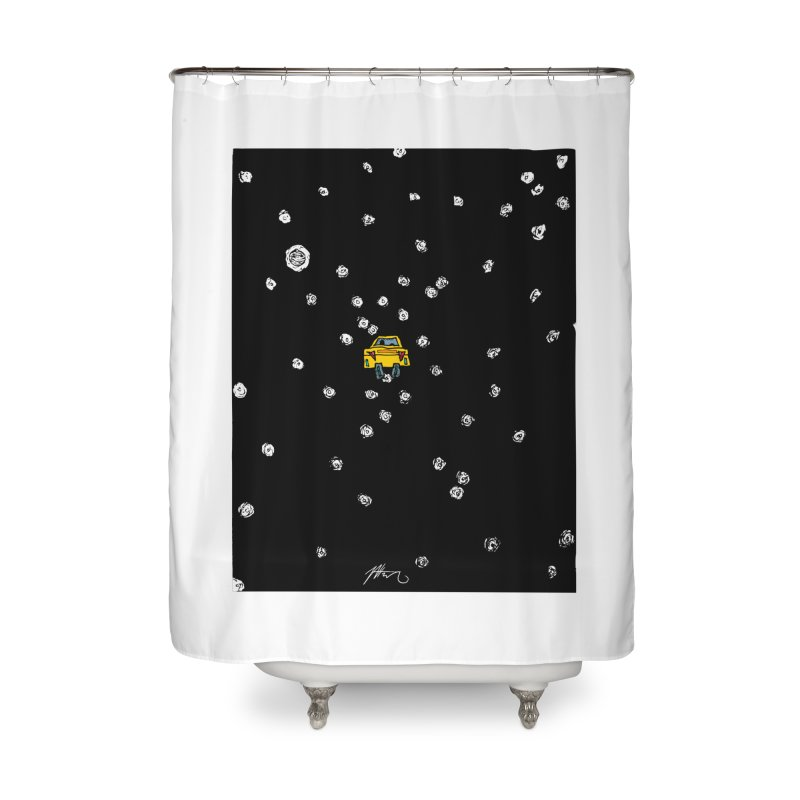 Road Trip Home Shower Curtain by Rorockll's Artist Shop