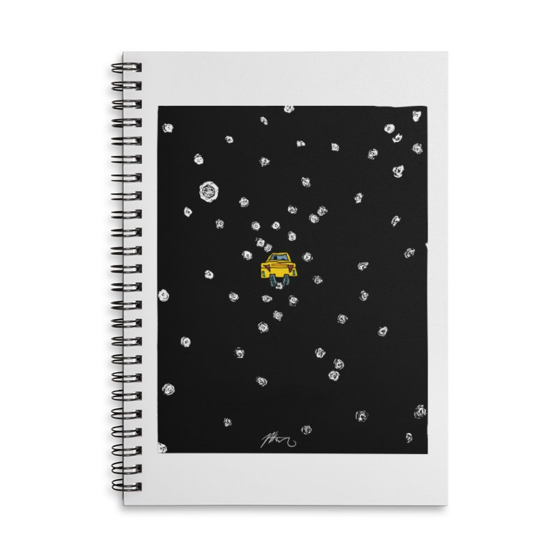 Road Trip Accessories Lined Spiral Notebook by Rorockll's Artist Shop