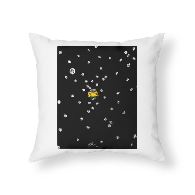 Road Trip Home Throw Pillow by Rorockll's Artist Shop