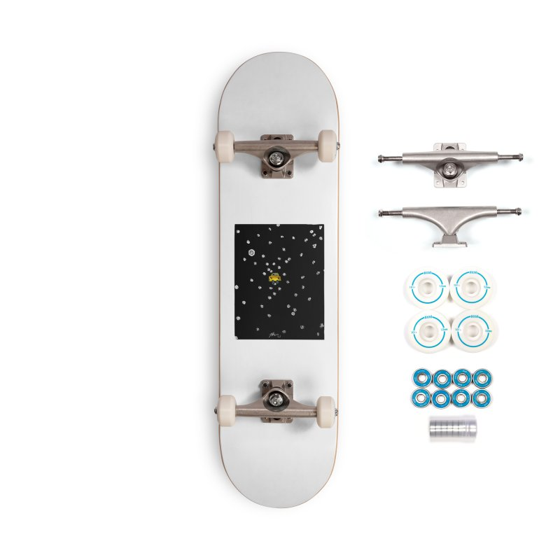 Road Trip Accessories Complete - Basic Skateboard by Rorockll's Artist Shop