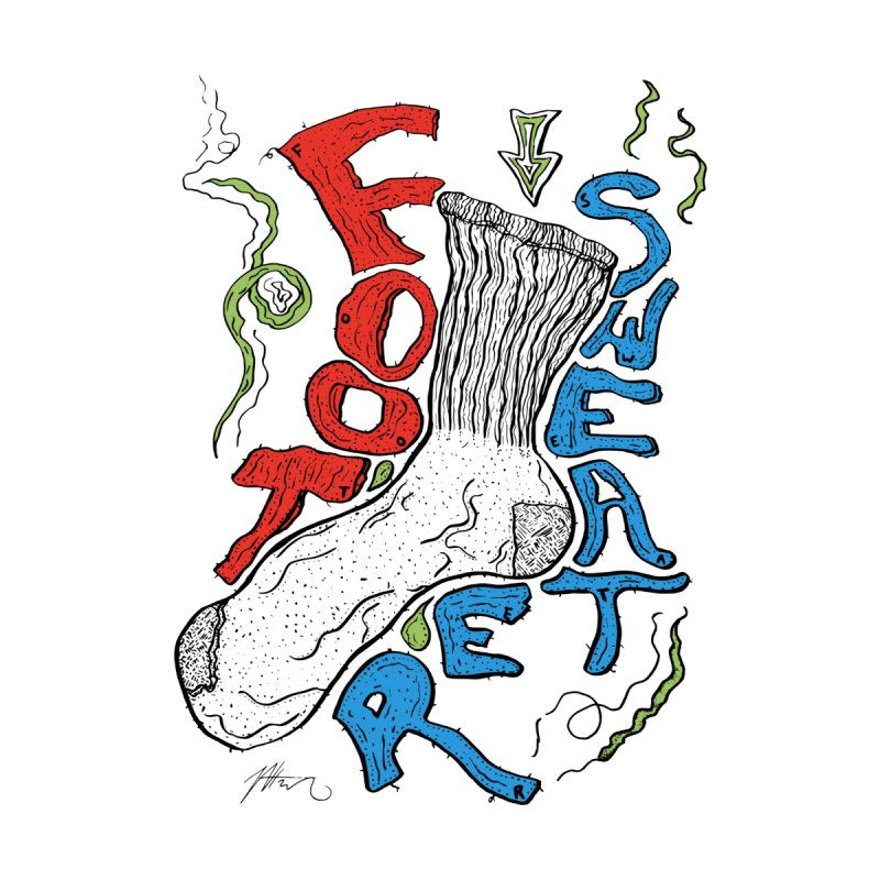 Foot Sweater by Rorockll's Artist Shop