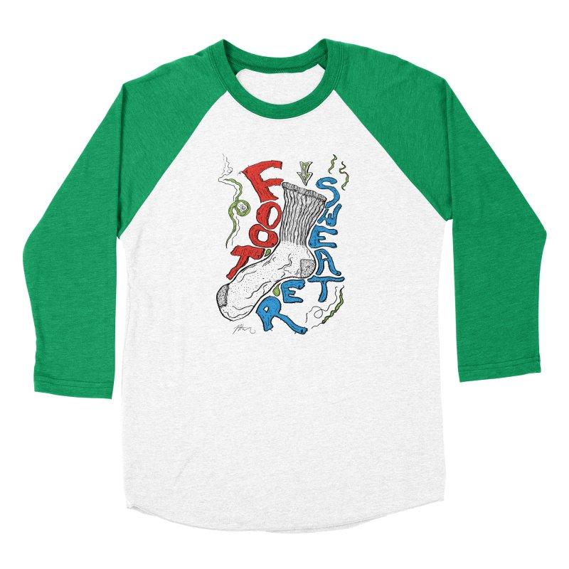 Foot Sweater Men's Baseball Triblend Longsleeve T-Shirt by Rorockll's Artist Shop