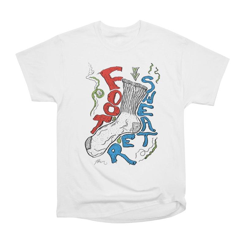 Foot Sweater Men's Heavyweight T-Shirt by Rorockll's Artist Shop
