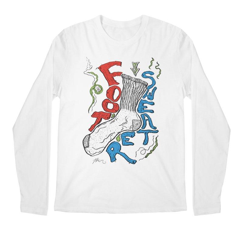 Foot Sweater Men's Regular Longsleeve T-Shirt by Rorockll's Artist Shop