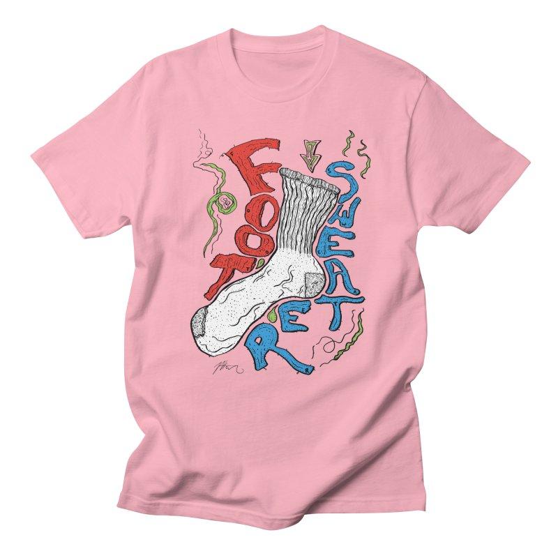 Foot Sweater Men's Regular T-Shirt by Rorockll's Artist Shop