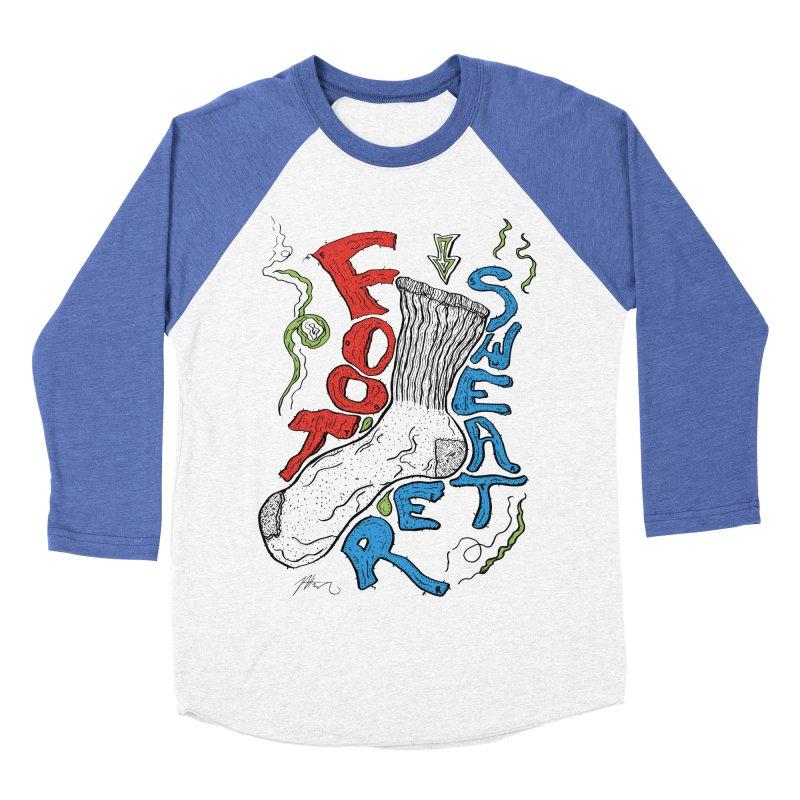 Foot Sweater Women's Baseball Triblend Longsleeve T-Shirt by Rorockll's Artist Shop