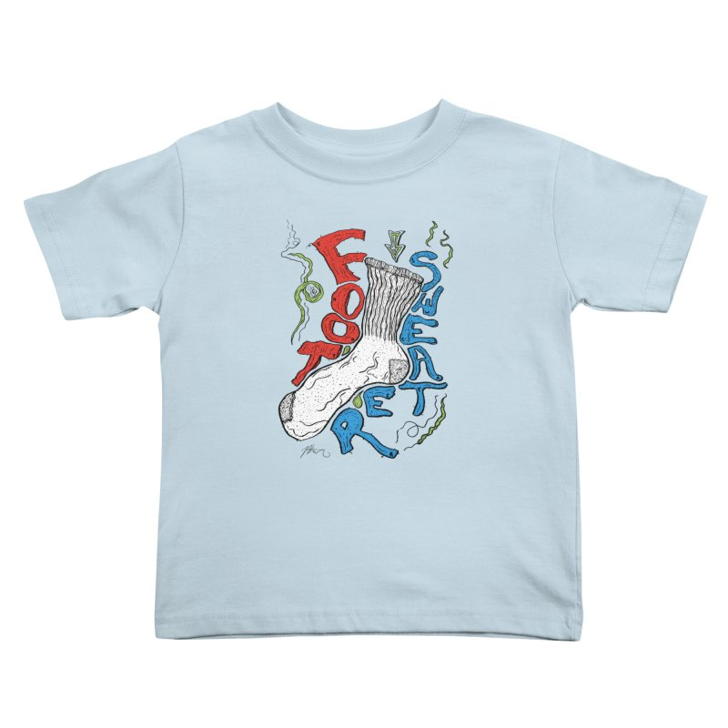 Foot Sweater Kids Toddler T-Shirt by Rorockll's Artist Shop