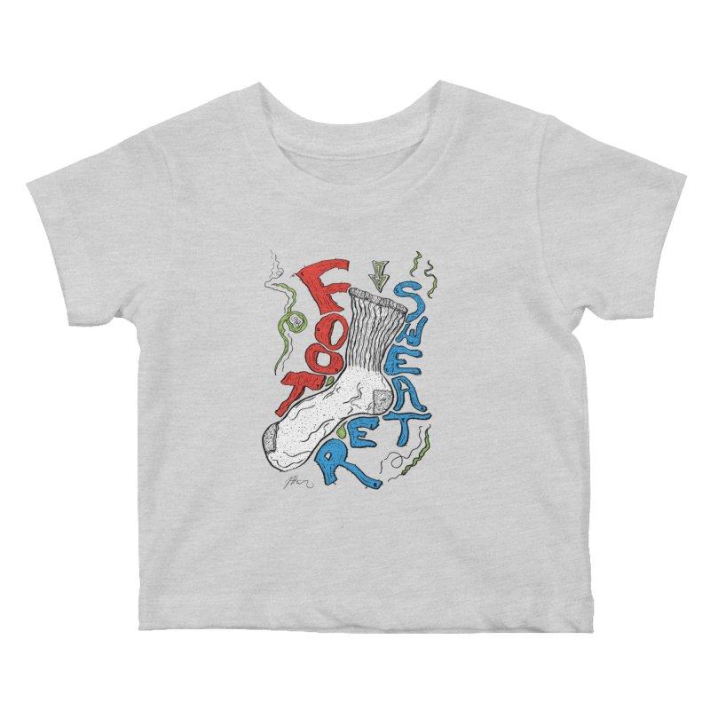 Foot Sweater Kids Baby T-Shirt by Rorockll's Artist Shop