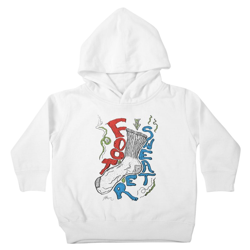 Foot Sweater Kids Toddler Pullover Hoody by Rorockll's Artist Shop