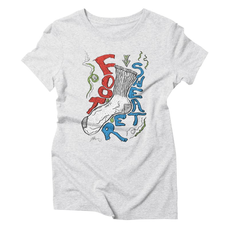 Foot Sweater Women's T-Shirt by Rorockll's Artist Shop