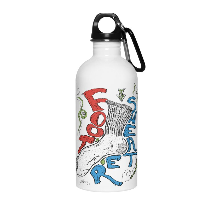 Foot Sweater Accessories Water Bottle by Rorockll's Artist Shop