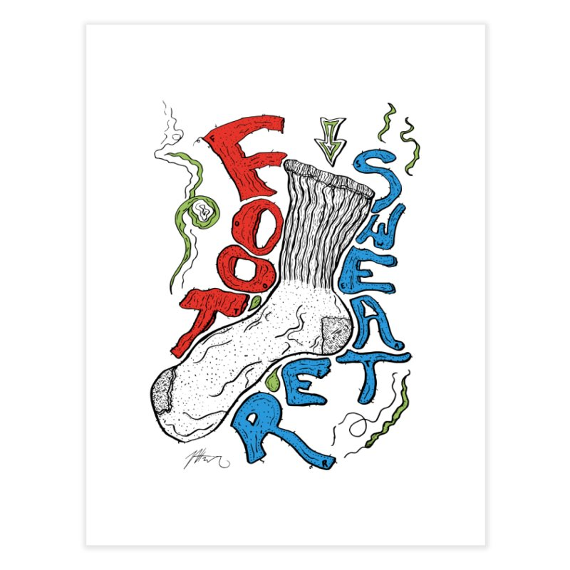 Foot Sweater Home Fine Art Print by Rorockll's Artist Shop