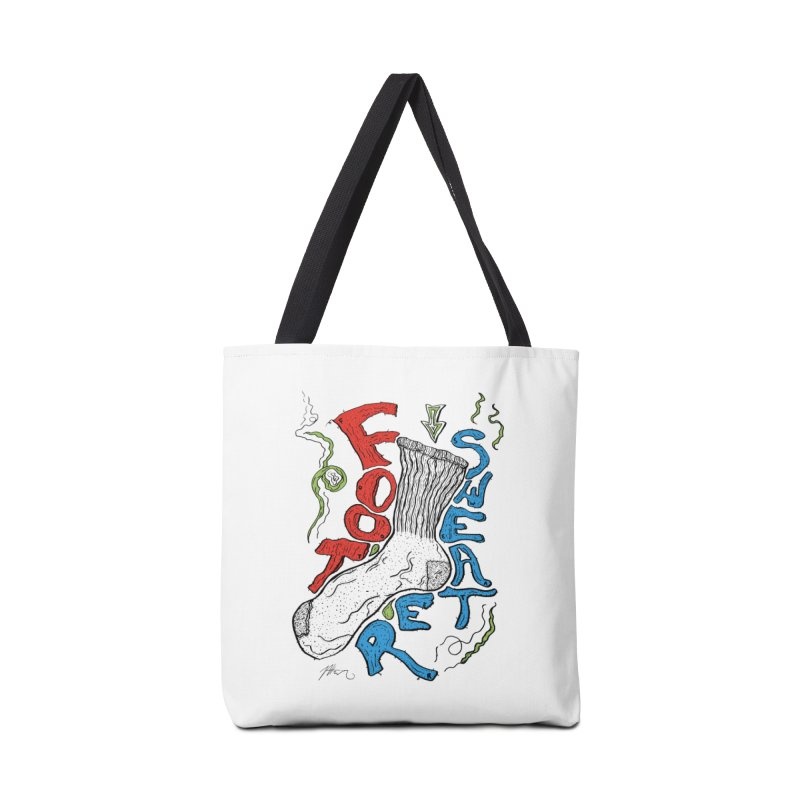 Foot Sweater Accessories Tote Bag Bag by Rorockll's Artist Shop