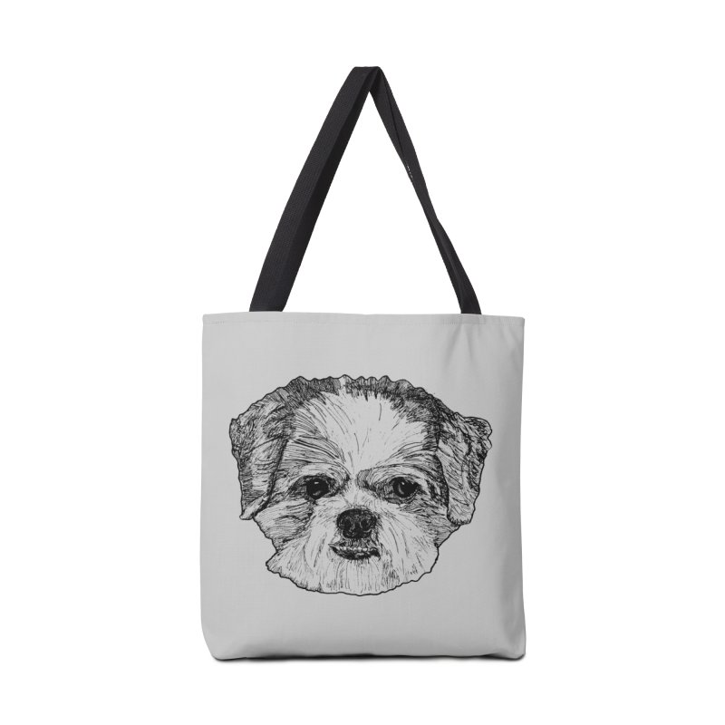 Biggles Accessories Tote Bag Bag by Rorockll's Artist Shop