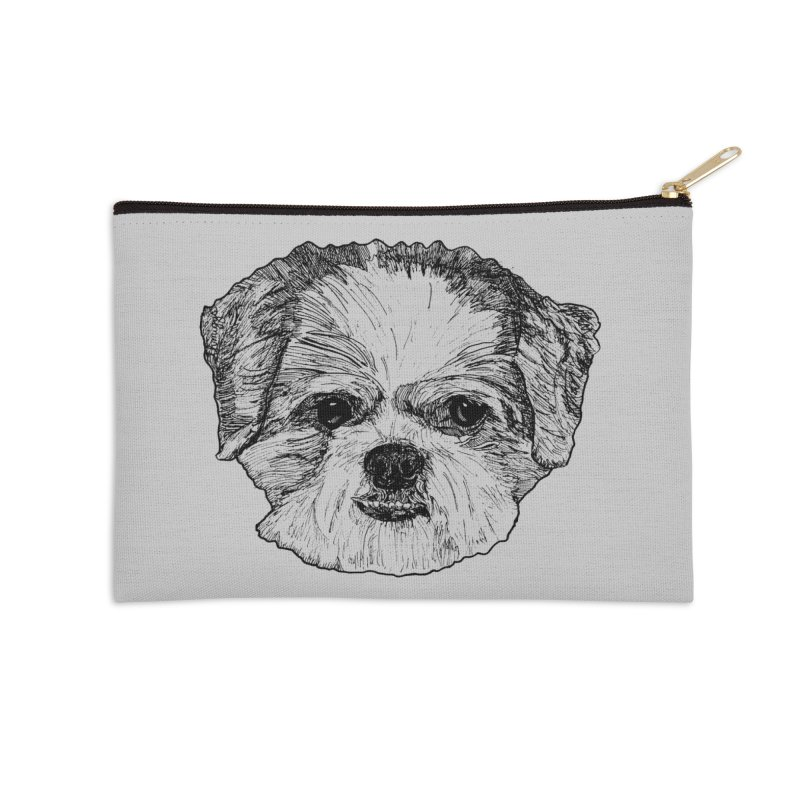 Biggles Accessories Zip Pouch by Rorockll's Artist Shop