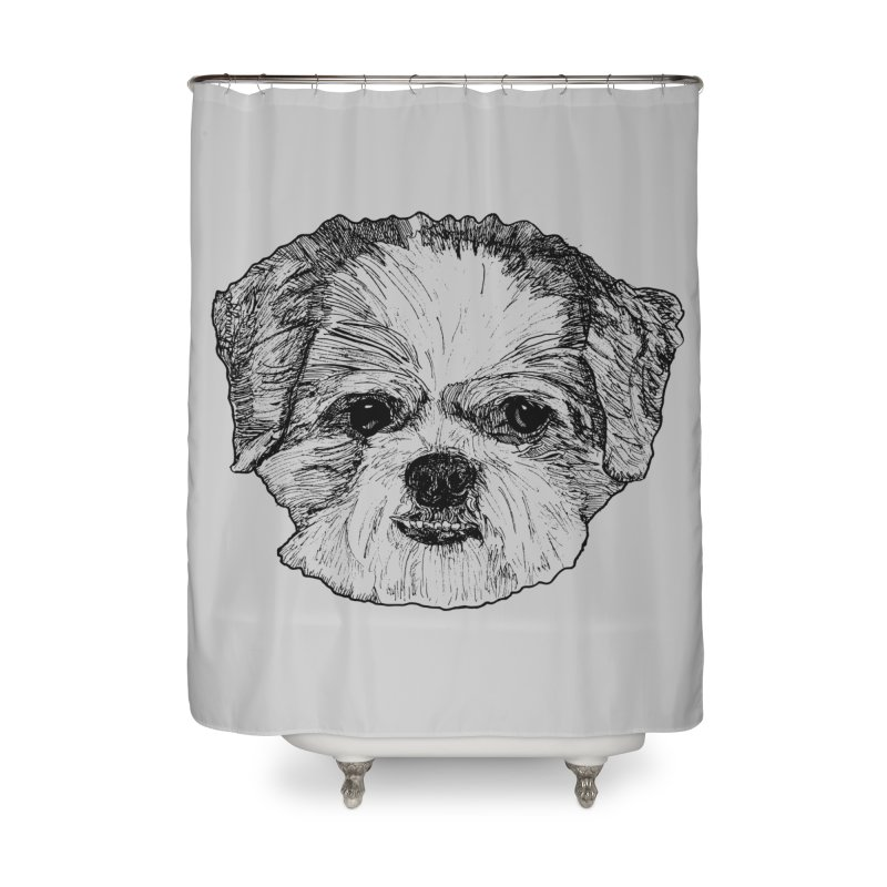 Biggles Home Shower Curtain by Rorockll's Artist Shop