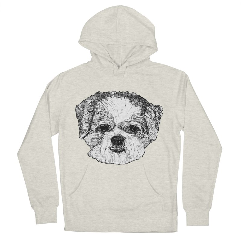 Biggles Women's French Terry Pullover Hoody by Rorockll's Artist Shop