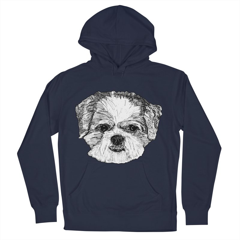 Biggles Men's French Terry Pullover Hoody by Rorockll's Artist Shop